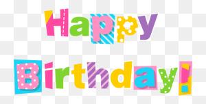 Colorful Happy Birthday Clipart Image Happy Birthday - Happy Birthday Granddaughter Clipart