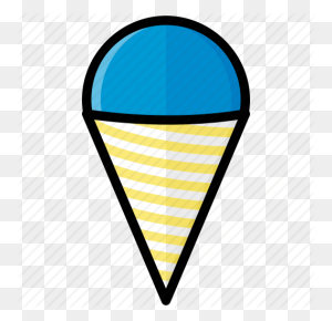 Cone, Food, Ice, Snow, Snow Cone, Sweet Icon - Snow Cone Clip Art