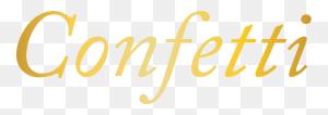 Confetti Magazine Calgary Weddings Edmonton Weddings Bc Weddings - Confetti Clipart Transparent