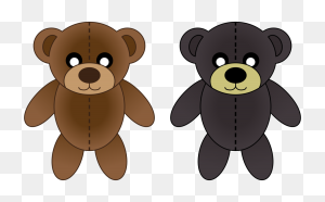 Counting Bears Stuffed Animals Cuddly Toys Teddy Bear Giant - Counting Bears Clipart