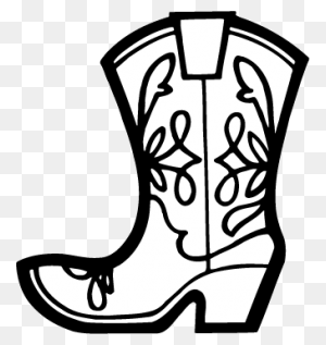 Cowboy Boot Template   Cowboy Find And Download Best Transparent Png Clipart Images At
