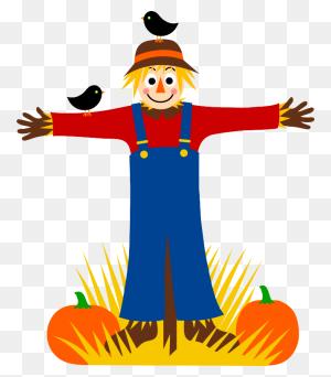 Crow Clipart Pumpkin Farm - Pumpkin Farm Clipart
