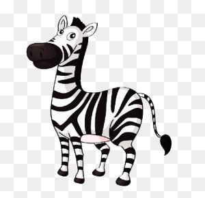 Cute Baby Zebra Zebra Cartoon Pictures Clip Art - Cute Zebra Clipart