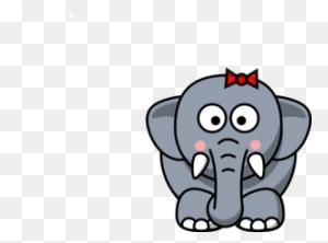 Cute Cartoon Elephants Baby Elephant - Baby Elephant Clipart Baby Shower