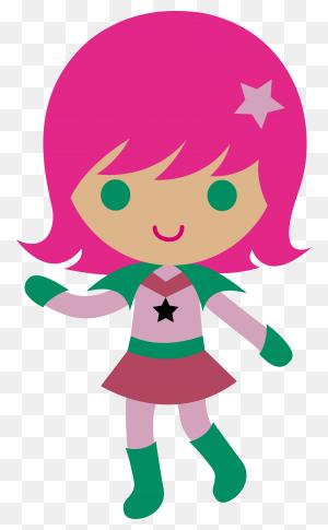 Cute Cartoon Girl Png Pic - Cartoon Girl PNG