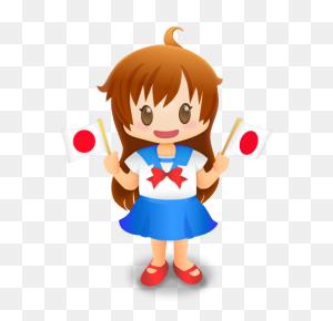 Cute Cartoon Girl Transparent Png - Cartoon Girl PNG