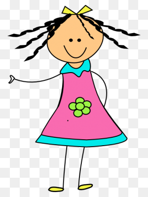 Cute Doll Girl Girl Clipart, Girls Clips And Dolls - Menopause Clipart