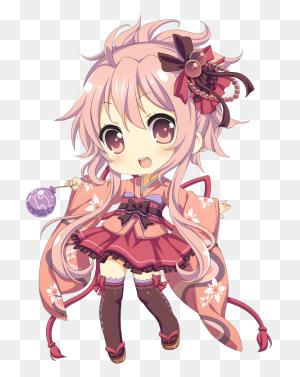 Cute,girl,chibi Chibi Chibi, Anime Chibi And Anime - Cute Anime Girl PNG