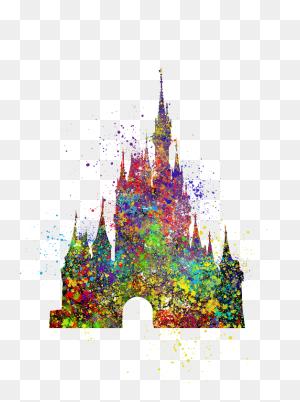 Disney Castle Cinderella Gifts - Disney Castle Logo PNG