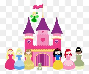 Disney Castle Disney Princess Castle Clipart Clipartfest - Disney Princess Clipart