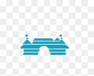 Disney Castle Pixel Art Maker - Disney Castle Logo PNG