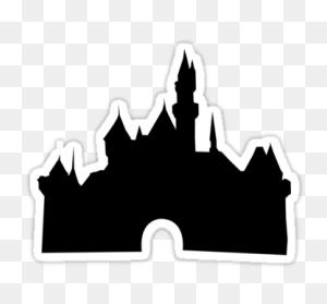 Disney Castle Silhouette Png Png Image - Disney Castle Logo PNG