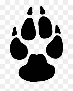 Dog Paw Print Tats Dogs, Dog Paws, Tiger Paw - Dog Paw Print PNG