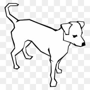 Dog Simple Drawing Clip Art Dogs Drawings, Easy - Simple Dog Clipart