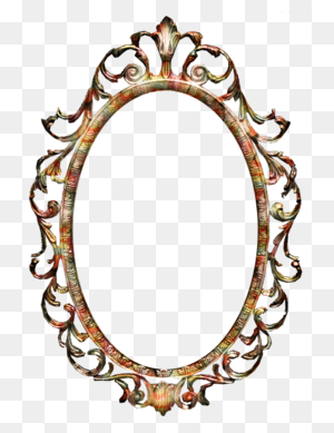 Download Antique Oval Picture Frames Png Clipart Picture Frames - Vintage Frame Clipart