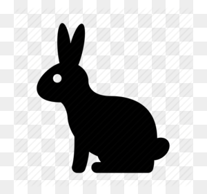 Download Autumn Clipart Domestic Rabbit Computer Icons Rabbit - Rabbit Silhouette Clip Art