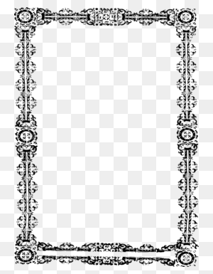 Download Borders And Frames Clipart Borders And Frames Decorative - Picture Frame Clipart Black And White
