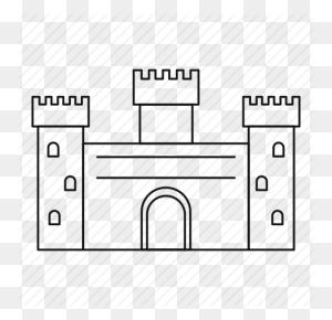 Download Castle Outline Clipart Castle Clip Art Castle - Disney Castle Clipart Free