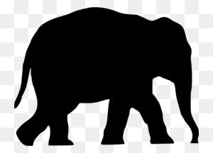 Download Elephant Transparent Clipart Asian Elephant Elephants - Elefante Clipart