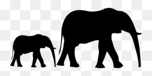 Download Elephant Transparent Clipart Asian Elephant Elephants - Elephant Clipart PNG