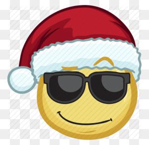 Download Emoji With Santa Hat Clipart Santa Claus Santa Suit Clip - PNG Santa Hat