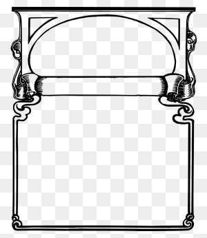 Download Frames Clipart Borders And Frames Clip Art - Picture Frame Clipart Black And White