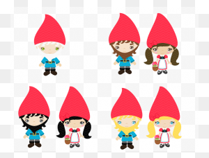 Download Gnomes Clipart Santa Claus Gnome Clip Art Gnome - Santa And Mrs Claus Clipart
