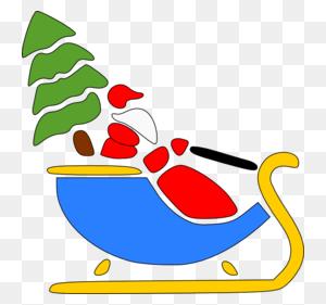 Download Kereta Santa Claus Png Clipart Santa Claus Clip Art - Santa Clipart PNG