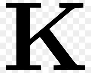 Download Letter K Png Clipart Letter Clip Art Letter, Black - Letter Clipart PNG
