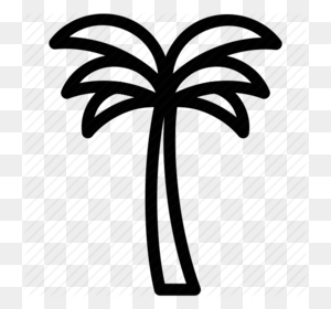 Download Palm Tree Icon Transparent Clipart Palm Trees Clip Art - Palm Tree Clipart Transparent Background
