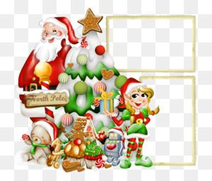 Download Santa Claus Photo Frame Clipart Santa Claus Picture - North Pole Clipart