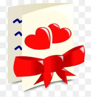 Download Valentine Card Png Clipart Clip Art Women Valentine's Day - Valentin Clipart