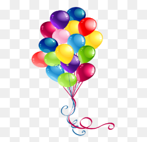 Elegant Birthday Balloons Clipart Happy Birthday Clip Art Happy - Happy Birthday Balloons Clip Art