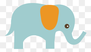 Elephant Elephant Clipart Cute Clip Art Cute Elephant Clipart - Indian Elephant Clipart