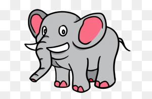 Elephant Free Cartoon Elephant Clip Art Elephants - Elephant Face Clipart
