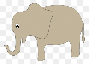 Elephants African Elephant Drawing Circus Cartoon - Elephant Head Clipart
