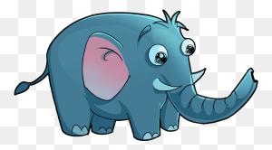 Elephants And Mammoths Clipart African Bush Elephant Animal - African Animals Clipart