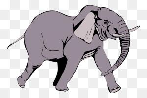 Elephants Clipart Two Sweet Sardinia Elephant's Head Clipart - Calf Clipart