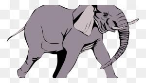 Elephants Clipart Two Sweet Sardinia Elephant's Head Clipart - Indian Elephant Clipart