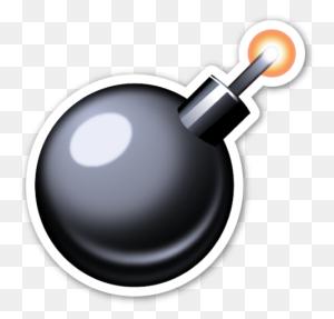 Emoji Emojis, Emoji - Bomb Emoji PNG