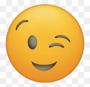 Emoji Faces Printable {free Emoji Printables Emojis - Wink Emoji PNG