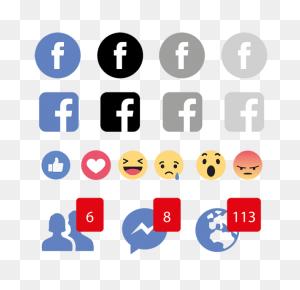Facebook Emojis Icon Logo, Social, Media, Icon Png And Vector - Facebook Emojis PNG
