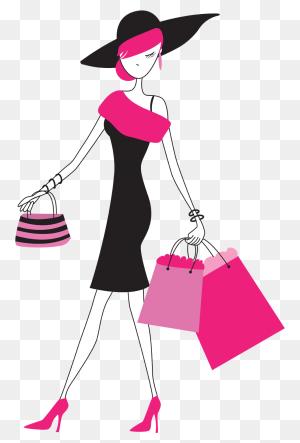 Fashion Girl Clipart Png - Fashion Girl Clipart