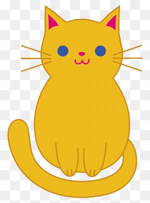 Fat Cat Clip Art Cute Orange Kitten Clip Art Cats - Sleeping Cat Clipart