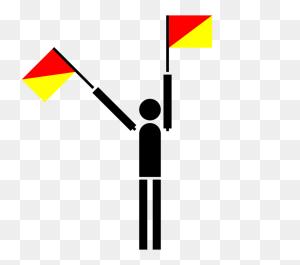 Flag Semaphore International Maritime Signal Flags Flag - Triangle Flag Clipart