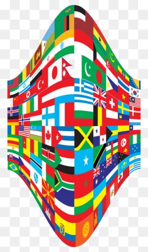 Flags Of The World World Flag Flag Of Serbia Rainbow Flag Free - Pride Flag Clipart