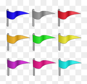Flags Png Clip Arts, Flags Clipart - Flag Bunting Clipart