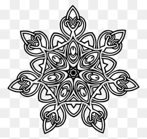 Floral Design Flower Designs Geometry Art - Flower Design Clipart