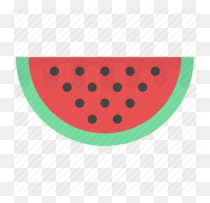 Food, Fruit, Natural Food, Watermelon, Watermelon Slice Icon - Watermelon Slice PNG