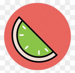 Food, Fruit, Piece Of Watermelon, Watermelon, Watermelon Slice Icon - Watermelon Clipart PNG